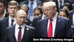 Predsednici SAD i Rusije, Donald Tramp i Vladimir Putin