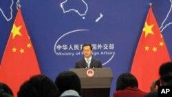 中国外交部发言人马朝旭