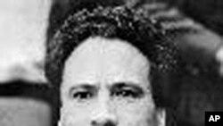 利比亚前领导人卡扎菲(资料照片)