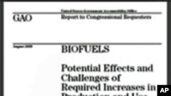 Government Report Raises Questions over Biofuels