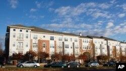 华盛顿郊区公寓楼。专家们认为明年房价会增长1.5%