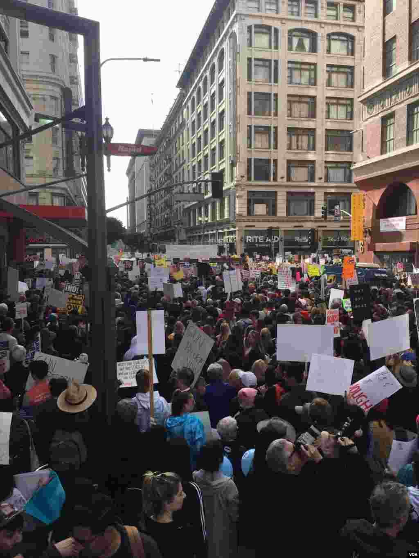 Marcha por Nuestras Vidas, Washington D.C. Foto: VOA División Latinoamericana.