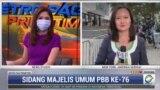 Laporan Langsung VOA untuk MetroTV: Pidato Presiden Jokowi di Sidang ke-76 Majelis Umum PBB