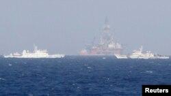 """Hạ Viện Nhật Bản mô tả việc Trung Quốc hạ đặt giàn khoan trong Biển Đông là một hành động """"bất hợp pháp, khiêu khích"""" làm tăng thêm căng thẳng trong vùng biển này"""