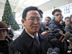 中国铁道部发言人王勇平
