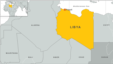 Tripoli, Libya map