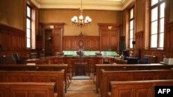 La cour d'appel au tribunal de Lyon, le 4 avril 2018.