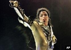 Michael Jackson en concert à Vienne (Archives)