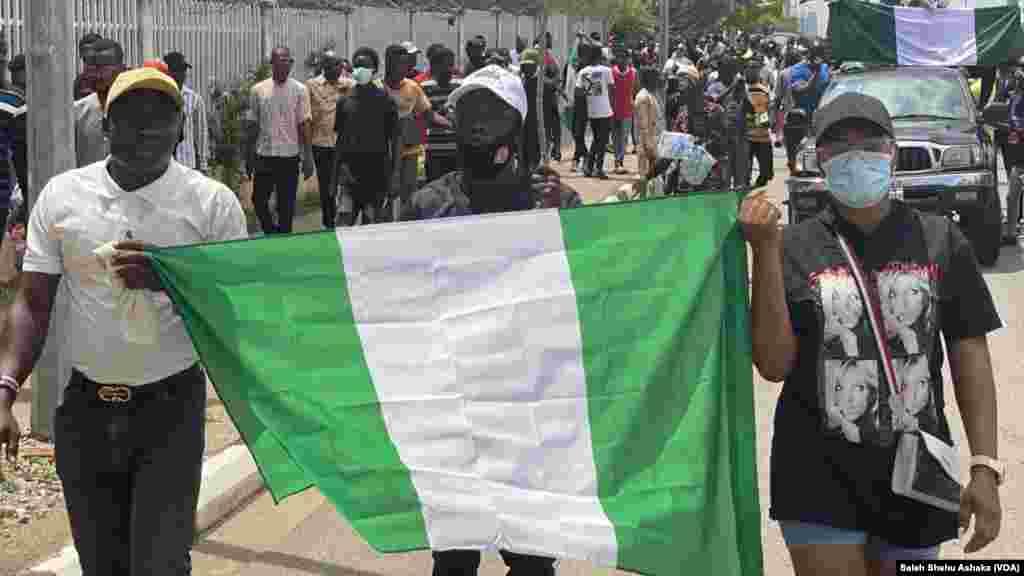 Zanga Zangar EndSARS a Abuja.