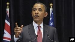 奧巴馬星期三訪問澳大利亞時表示﹐正尋求達成新的氣候變化國際協議上達成妥協