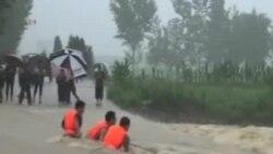 四川洪水造成多人死亡或失踪
