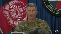 US Afghanistan Forces Commander Nicholson on MOAB Bombing