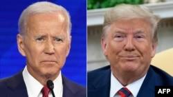 Shugaba Trump da Abokin hamayyarsa Joe Biden