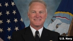 美国海军水面舰艇(U.S. Navy's Surface Forces)司令、海军中将汤姆·罗登(Tom Rowden)(美国海军图片)