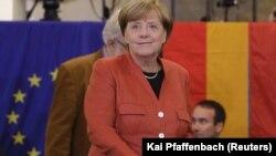 La canciller alemana, Angela Merkel, ganó un cuarto mandato tras las eleccioens del domingo, 24 de septiembre, de 2017.
