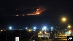 亞利桑那州的山火