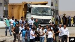 انفجار در دیاربکر در جنوب شرق ترکیه. نیمه اوت ۲۰۱۶