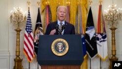 Tổng thống Mỹ Joe Biden ngày 8/7 mạnh mẽ bênh vực quyết định rút các lực lượng Mỹ ra khỏi Afghanistan.