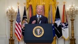拜登宣布美國在阿富汗的軍事使命將於8月31日結束