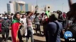 Baadhi ya makundi yaliyoandamana kuipinga serikali ya Sudan