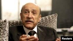 오마르 술레이만 전 이집트 부통령. (자료사진)