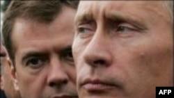 Medvedevi i afrohet popullaritetit të Putinit