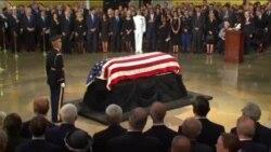 گرامیداشت سناتور فقید جان مک کین در واشنگتن