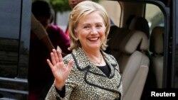 La ex secretaria de Estado de EE.UU., Hillary Clinton, llegará a México este viernes.