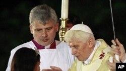쿠바에서 미사를 집전 중인 교황 베네딕토 16세