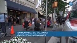 Filarmoni Orkestrası'ndan New York Sokaklarında Konser