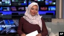جنیلہ ماسا، کینیڈا کی پہلی خاتون صحافی، جنہوں نے سکارف پہن کر خبریں پڑھیں۔