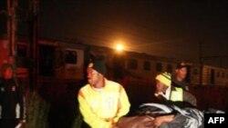 Mấy trăm người bị thương trong vụ xe lửa lật ở Nam Phi