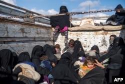 Žene i djeca bježe iz posljednjeg uporišta Islamske države u istočnom dijelu Sirije
