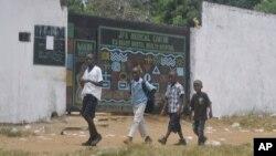 Le Centre médical JFK à Monrovia au Liberia.