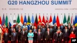 西方通讯社镜头下的G20杭州峰会(38图)