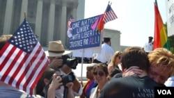 El presidente de Estados Unidos, Barack Obama se encontraba en Senegal cuando un fallo de la Corte Suprema estadounidense amplió los derechos de los homosexuales.