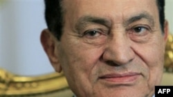 Mısır Cumhurbaşkanı Hüsnü Mübarek