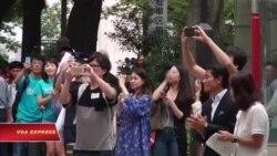 iPhone mới chào hàng tại Nhật