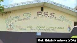 Students and their principal were kidnapped from the Presbyterian School of Science and Technology in Bafut, near Bamenda, Cameroon, Nov. 5, 2018