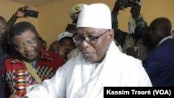 Le président malien Ibrahim Boubacar Kéita a voté lors de l'élection présidentielle du 29 juillet 2018.