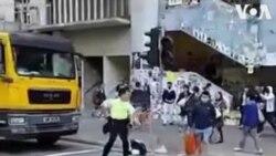 Հոնկոնգի ոստիկանները կրակել են ցուցարարին