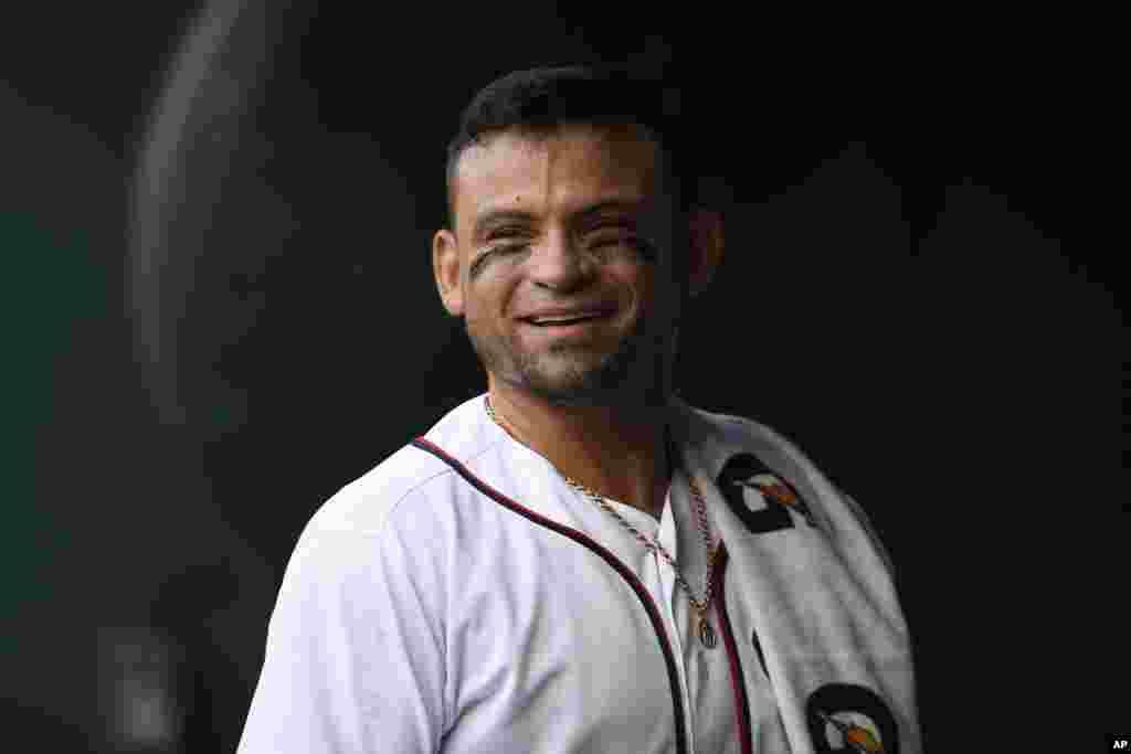 Gerardo Parra, de Santa Bárbara, Venezuela, es otro de los orgullos latinos que está labrándose un nombre en el béisbol estadounidense y actualmente con los Nacionales de Washington.