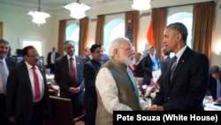 PM Modi in Washington - Press Conference USA