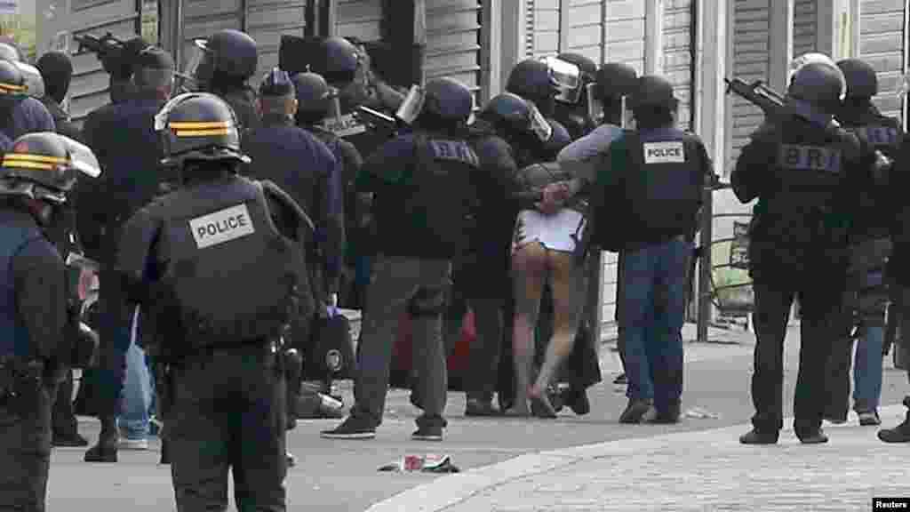 ፈረንሣይ ከተማ ሳን ደኒ (Saint-Denis) ውስጥ የተካሄደ ፀረ-ሽብር ዘመቻ