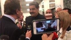 """Maduro a VOA: """"listo, preparado y dispuesto"""" para reunión con Trump"""