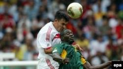 La coupe des confédérations, la Turquie contre le Cameroun. epa /OLIVIER HOSLET