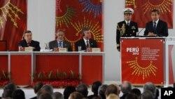 La Cumbre Internacional Antidrogas, es organizada por la Comisión Nacional para el Desarrollo y Vida sin Drogas (Devida) junto con el Ministerio de Relaciones Exteriores de Perú.