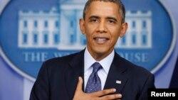 El presidente Barack Obama agradeció a los legisladores demócratas y republicanos por aprobar la reapertura del gobierno.