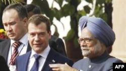 Rusiya prezidenti Dmitri Medvedev bu gün Hindistanın Mumbay şəhərindədir