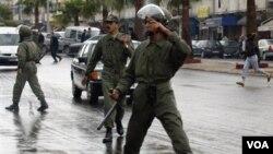 Pihak berwenang Maroko melakukan serangkaian penangkapan atas militan sejak pemboman di Kasablanka tahun 2003.